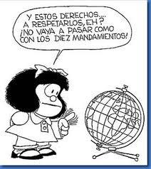 Mafalda y la bola del mundo