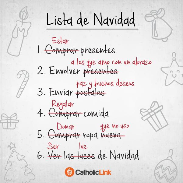 lista de navidad